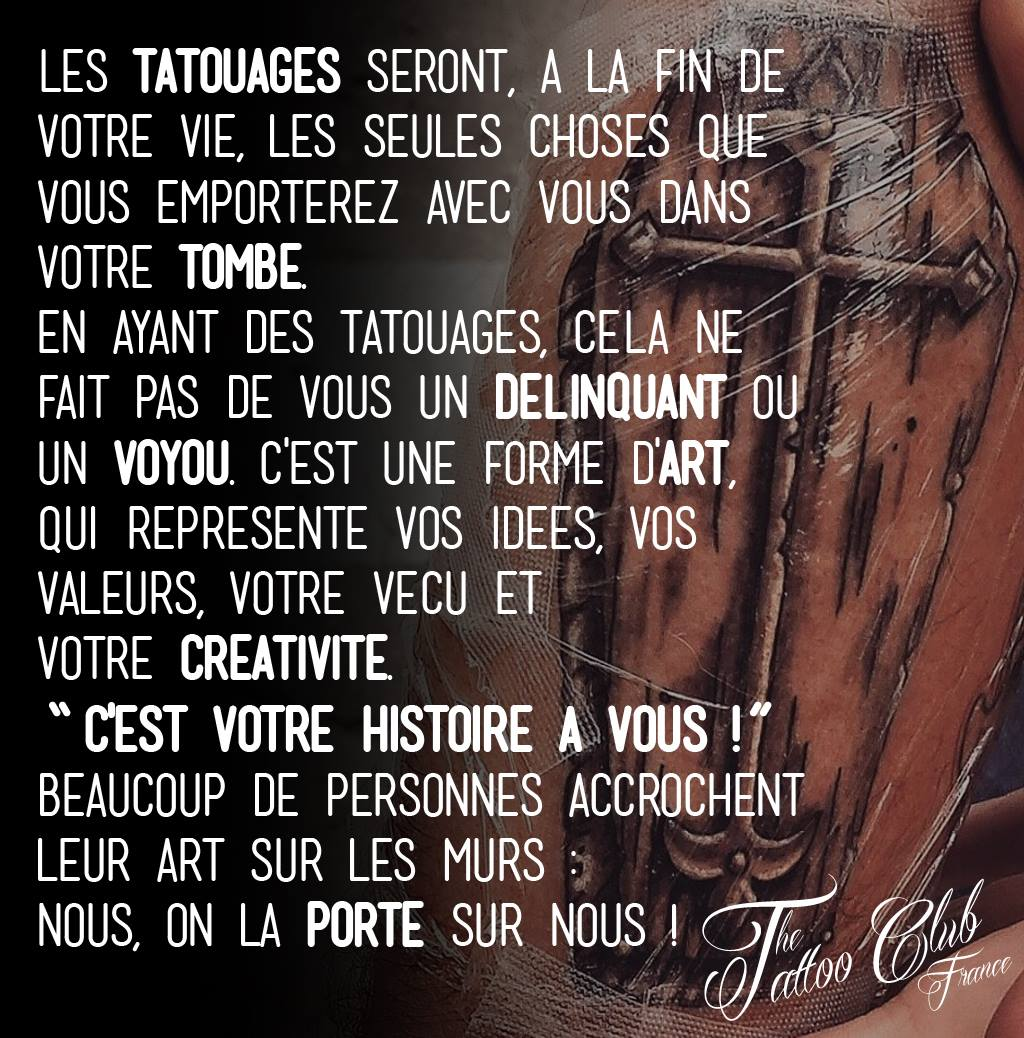 Citations Tatouages Tattoo France